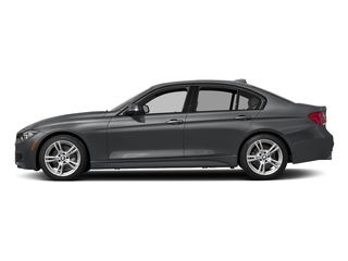 Mineral Gray Metallic 2017 BMW 3 Series Pictures 3 Series Sedan 4D 340i I6 Turbo photos side view