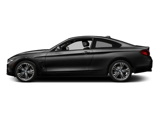 Jet Black 2017 BMW 4 Series Pictures 4 Series Coupe 2D 430xi AWD I4 Turbo photos side view
