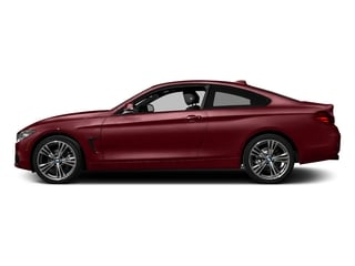Melbourne Red Metallic 2017 BMW 4 Series Pictures 4 Series Coupe 2D 430xi AWD I4 Turbo photos side view