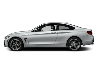 Glacier Silver Metallic 2017 BMW 4 Series Pictures 4 Series Coupe 2D 430xi AWD I4 Turbo photos side view
