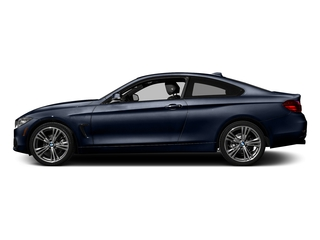 Imperial Blue Metallic 2017 BMW 4 Series Pictures 4 Series Coupe 2D 430xi AWD I4 Turbo photos side view