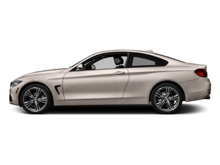 Orion Silver Metallic 2017 BMW 4 Series Pictures 4 Series Coupe 2D 430xi AWD I4 Turbo photos side view