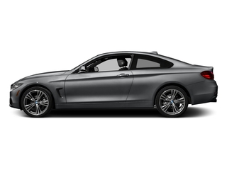 Mineral Gray Metallic 2017 BMW 4 Series Pictures 4 Series Coupe 2D 430xi AWD I4 Turbo photos side view