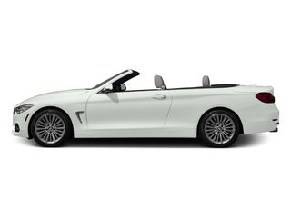 Alpine White 2017 BMW 4 Series Pictures 4 Series Convertible 2D 430i I4 Turbo photos side view