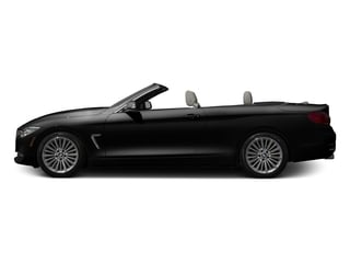 Black Sapphire Metallic 2017 BMW 4 Series Pictures 4 Series Convertible 2D 430xi AWD I4 Turbo photos side view