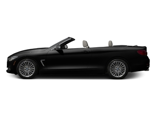 Jet Black 2017 BMW 4 Series Pictures 4 Series Convertible 2D 430xi AWD I4 Turbo photos side view