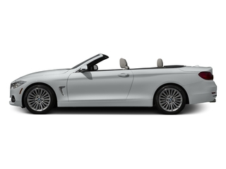 Glacier Silver Metallic 2017 BMW 4 Series Pictures 4 Series Convertible 2D 430xi AWD I4 Turbo photos side view