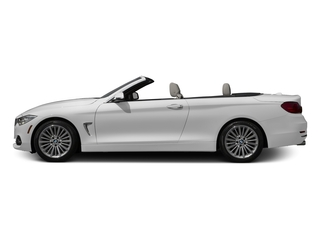 Mineral White Metallic 2017 BMW 4 Series Pictures 4 Series Convertible 2D 430xi AWD I4 Turbo photos side view