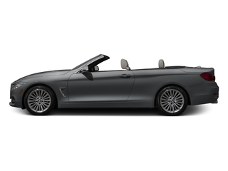 Mineral Gray Metallic 2017 BMW 4 Series Pictures 4 Series Convertible 2D 430xi AWD I4 Turbo photos side view