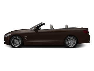 Sparkling Brown Metallic 2017 BMW 4 Series Pictures 4 Series Convertible 2D 430xi AWD I4 Turbo photos side view