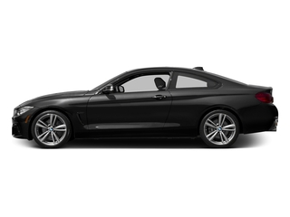 Jet Black 2017 BMW 4 Series Pictures 4 Series Coupe 2D 440i I6 Turbo photos side view
