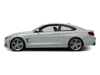 Glacier Silver Metallic 2017 BMW 4 Series Pictures 4 Series Coupe 2D 440i I6 Turbo photos side view