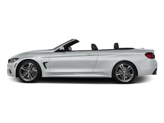 Glacier Silver Metallic 2017 BMW 4 Series Pictures 4 Series Convertible 2D 440i I6 Turbo photos side view