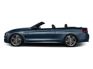 Midnight Blue Metallic 2017 BMW 4 Series Pictures 4 Series Convertible 2D 440i I6 Turbo photos side view