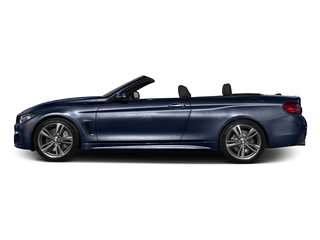 Tanzanite Blue Metallic 2017 BMW 4 Series Pictures 4 Series Convertible 2D 440i I6 Turbo photos side view