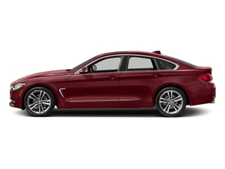 Melbourne Red Metallic 2017 BMW 4 Series Pictures 4 Series Sedan 4D 430xi AWD I4 Turbo photos side view
