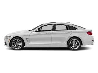 Mineral White Metallic 2017 BMW 4 Series Pictures 4 Series Sedan 4D 430xi AWD I4 Turbo photos side view