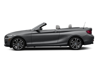 Mineral Gray Metallic 2017 BMW 2 Series Pictures 2 Series Convertible 2D 230xi AWD I4 Turbo photos side view
