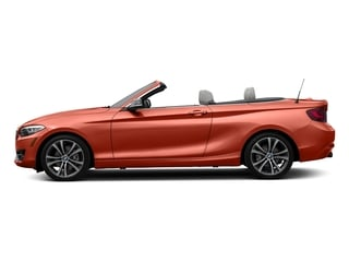 Valencia Orange Metallic 2017 BMW 2 Series Pictures 2 Series Convertible 2D 230xi AWD I4 Turbo photos side view