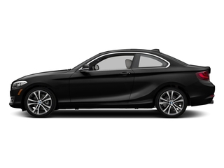 Black Sapphire Metallic 2017 BMW 2 Series Pictures 2 Series Coupe 2D 230xi AWD I4 Turbo photos side view