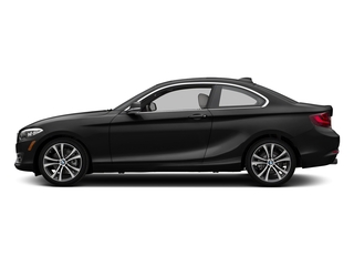 Jet Black 2017 BMW 2 Series Pictures 2 Series Coupe 2D 230xi AWD I4 Turbo photos side view