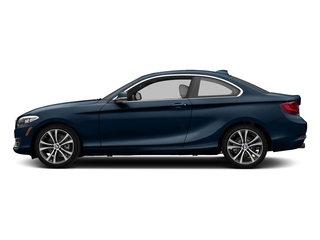 Midnight Blue Metallic 2017 BMW 2 Series Pictures 2 Series Coupe 2D 230xi AWD I4 Turbo photos side view