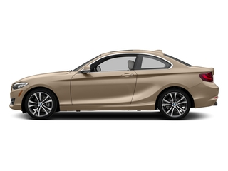 Moonlight Silver Metallic 2017 BMW 2 Series Pictures 2 Series Coupe 2D 230xi AWD I4 Turbo photos side view