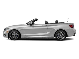 Mineral White Metallic 2017 BMW 2 Series Pictures 2 Series Convertible 2D M240i I6 Turbo photos side view
