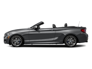 Mineral Gray Metallic 2017 BMW 2 Series Pictures 2 Series Convertible 2D M240i I6 Turbo photos side view