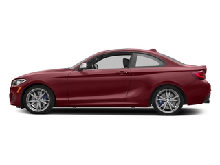Melbourne Red Metallic 2017 BMW 2 Series Pictures 2 Series Coupe 2D M240i I6 Turbo photos side view