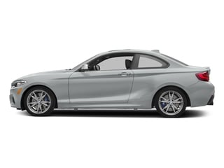 Glacier Silver Metallic 2017 BMW 2 Series Pictures 2 Series Coupe 2D M240i I6 Turbo photos side view