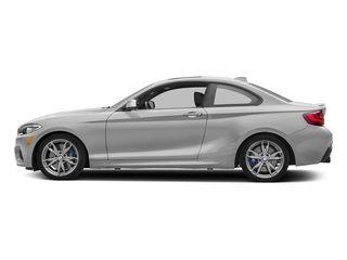 Mineral White Metallic 2017 BMW 2 Series Pictures 2 Series Coupe 2D M240i I6 Turbo photos side view