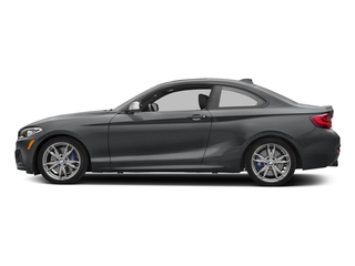 Mineral Gray Metallic 2017 BMW 2 Series Pictures 2 Series Coupe 2D M240i I6 Turbo photos side view