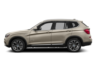 Mineral Silver Metallic 2017 BMW X3 Pictures X3 Utility 4D 28i AWD I4 Turbo photos side view