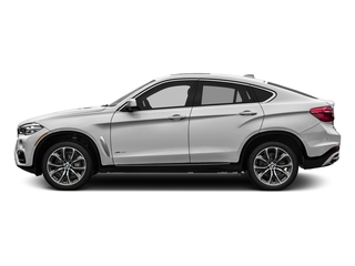 Mineral White Metallic 2017 BMW X6 Pictures X6 Utility 4D sDrive35i 2WD I6 Turbo photos side view