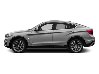 Pearl Silver Metallic 2017 BMW X6 Pictures X6 Utility 4D sDrive35i 2WD I6 Turbo photos side view