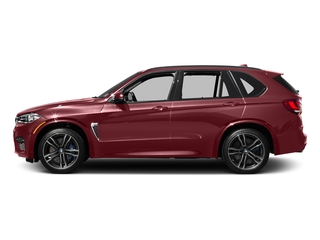 Melbourne Red Metallic 2017 BMW X5 M Pictures X5 M Utility 4D M AWD V8 Turbo photos side view