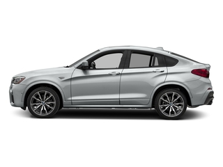 Glacier Silver Metallic 2017 BMW X4 Pictures X4 Utility 4D 28i AWD I4 Turbo photos side view