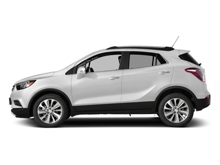 Summit White 2017 Buick Encore Pictures Encore Utility 4D Essence AWD I4 Turbo photos side view