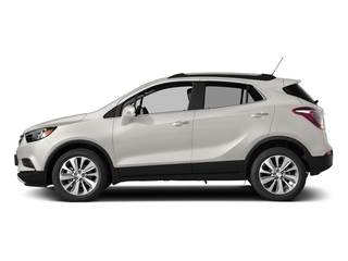 White Frost Tricoat 2017 Buick Encore Pictures Encore Utility 4D Essence AWD I4 Turbo photos side view