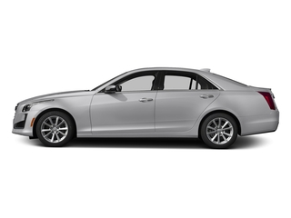 Radiant Silver Metallic 2017 Cadillac CTS Sedan Pictures CTS Sedan 4D AWD I4 Turbo photos side view