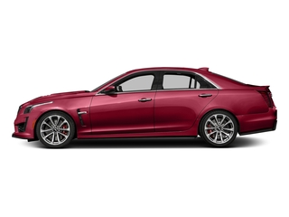 Red Obsession Tintcoat 2017 Cadillac CTS-V Sedan Pictures CTS-V Sedan 4D V-Series V8 photos side view