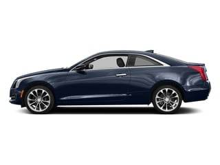 Dark Adriatic Blue Metallic 2017 Cadillac ATS Coupe Pictures ATS Coupe 2D Premium Performance V6 photos side view