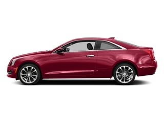Red Obsession Tintcoat 2017 Cadillac ATS Coupe Pictures ATS Coupe 2D Premium Performance V6 photos side view