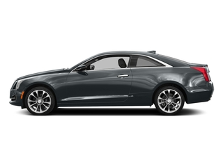 Phantom Gray Metallic 2017 Cadillac ATS Coupe Pictures ATS Coupe 2D Premium Performance V6 photos side view