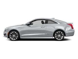 Radiant Silver Metallic 2017 Cadillac ATS Coupe Pictures ATS Coupe 2D Premium Performance V6 photos side view