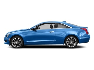 Silver Moonlight Metallic 2017 Cadillac ATS Coupe Pictures ATS Coupe 2D Premium Performance V6 photos side view