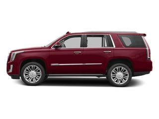 Red Passion Tintcoat 2017 Cadillac Escalade Pictures Escalade Utility 4D Platinum 2WD V8 photos side view