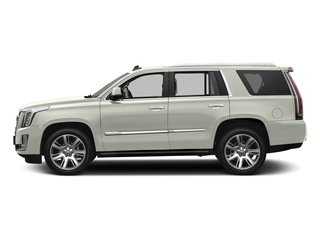 Crystal White Tricoat 2017 Cadillac Escalade Pictures Escalade Utility 4D Premium Luxury 2WD V8 photos side view