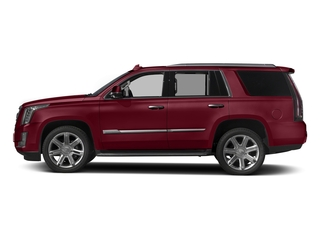 Red Passion Tintcoat 2017 Cadillac Escalade Pictures Escalade Utility 4D Luxury 2WD V8 photos side view